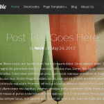 Fable WordPress Theme – Premium Blogging Theme